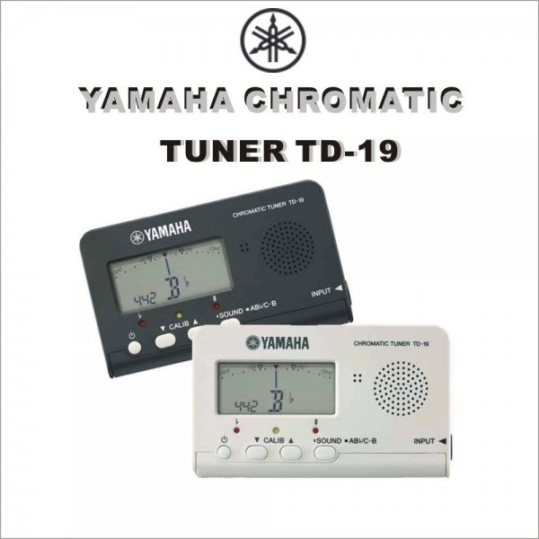 야마하 크로매틱 튜너TD-19