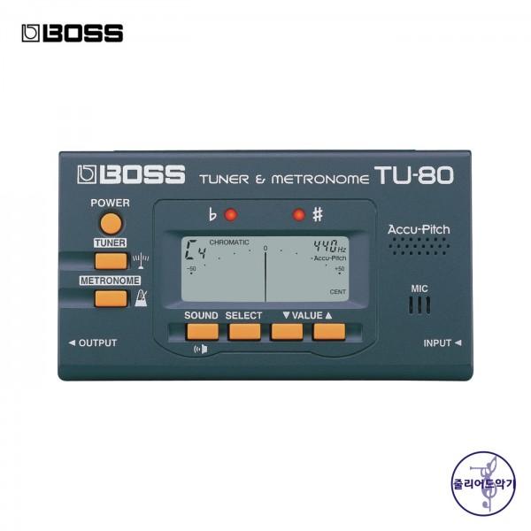 보스  튜너 메트로놈 TU-80