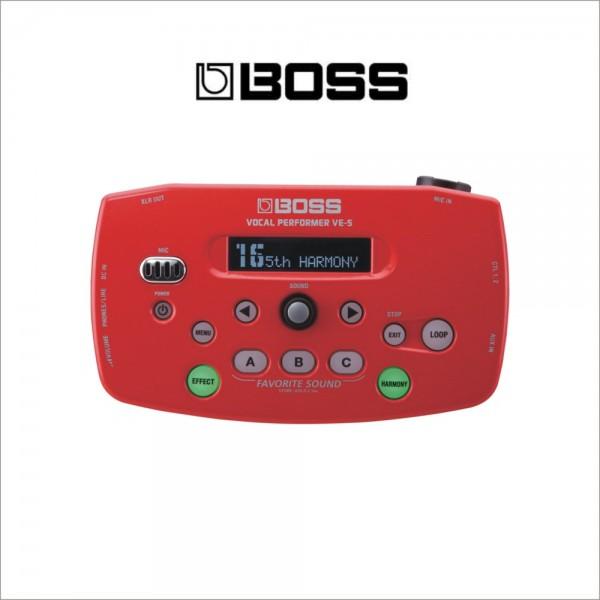 BOSS VE-5 Vocal Performer 보스 퍼포머 보컬이펙터 레드색상