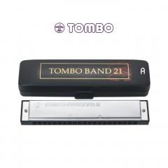 톰보 밴드21홀 트레몰로 하모니카 A조