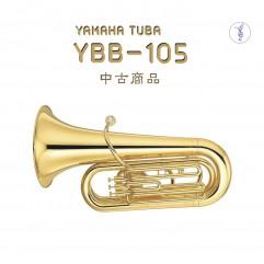 중고상품 야마하 튜바 BBb YBB105
